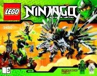 Lego Epic Dragon Battle - 9450 (2012) - Destiny's Bounty BI 3016 60/65g 9450 V29 3/3
