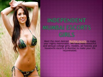 Best Independent Mumbai Escorts Services by Saumya Giri