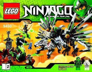 Lego Epic Dragon Battle - 9450 (2012) - Destiny's Bounty BI 3016/72+4 9450 V39 2/3