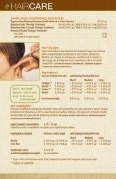 aveda Deep Conditioning Treatments - Carmona's Salon & Day Spa