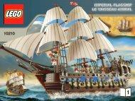 Lego Imperial Flagship - 10210 (2010) - Black Sea Barracuda BI 3009/68+4 10210 V46/39 1/2