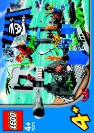 Lego Skull Island - 7074 (2004) - Treasure Island BI, 7074 IN