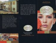 About You Salon & Day Spa Gatlinburg Brochure - East Great ...
