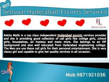 Sensual Independent Hyderabad Escorts Services by Rekha Malik