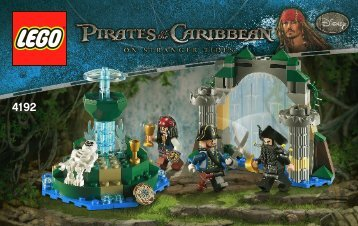 Lego Fountain of Youth - 4192 (2011) - Isla De la Muerta BI 3004/32 - 4192 V29