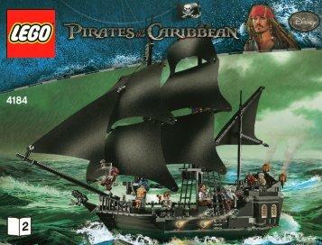 Lego The Black Pearl - 4184 (2011) - Isla De la Muerta BI 3019/76+4*- 4184 V 29/39 2/2