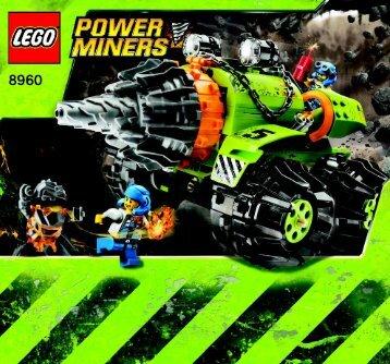 Lego Thunder Driller - 8960 (2009) - Granite Grinder BI 3005/72+4 - 8960