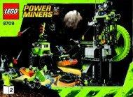 Lego Underground Mining Station - 8709 (2009) - Power Miners BI 3006/72+4 - 8709 2/2