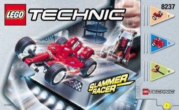 Lego Slammer Racer - 8237 (2000) - Jump Riders BUILDINGINSTRUCTION 8237