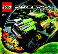 Lego Off Road Power - 8141 (2007) - Phantom Crasher BUILDING INSTRUC. 8141 IN 1/2