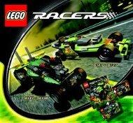 Lego Off Road Power - 8141 (2007) - Phantom Crasher BUILDING INSTRUC. 8141 NA 2/2