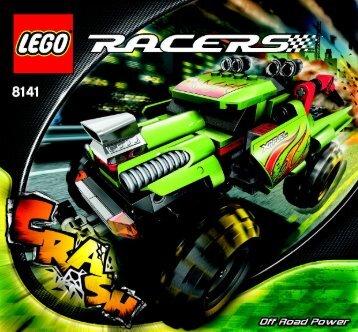 Lego Off Road Power - 8141 (2007) - Phantom Crasher BUILDING INSTRUC. 8141 NA 1/2