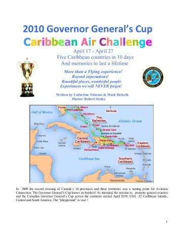 2010 Governor General's Cup Caribbean Air Challenge