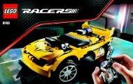 Lego Track Turbo RC - 8183 (2009) - RC Nitro Flash BI 3004/64 - 8183