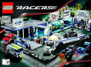 Lego Brick Street Customs - 8154 (2008) - Ferrari F1 Truck BUILDING INSTRUC. 8154 BOOK 2