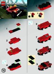 Lego Turbo Tow - 8195 (2009) - Adrift Sport BI 2002/ 2 - 8195 V29/V39