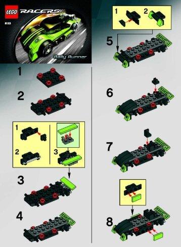 Lego Rally Runner - 8133 (2006) - Terrain Crusher BI  8133