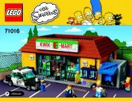 Lego The Kwik-E-Mart - 71016 (2015) - The Simpsons™ House BI 3019/252+4/65+200g 71016 v29