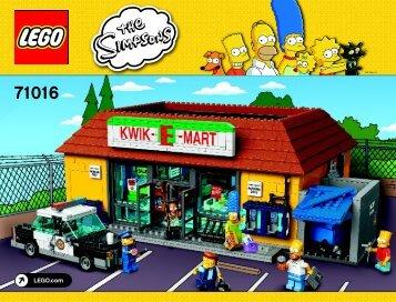 Lego The Kwik-E-Mart - 71016 (2015) - The Simpsons™ House BI 3019/252+4/65+200g 71016 v29