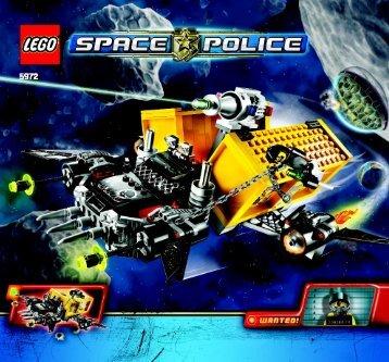 Lego Space Truck Getaway - 5972 (2009) - Space Truck Getaway BI 3005/60 - 5972 V 29