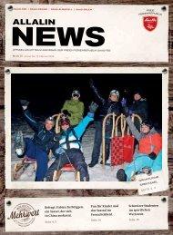 Allalin News Nr. 2/2016 - SAAS-FEE | SAAS-GRUND | SAAS-ALMAGELL | SAAS-BALEN