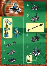 Lego ROVER - 7309 (2001) - Hive Crawler BI 7301/7309