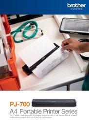 A4 Portable Printer Series