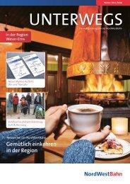 UNTERWEGS Weser-Ems - Winter 2015/2106