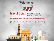 Indian Travel Agents - Inbound Travel Agents in India - Tsiholidays.com