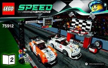 Lego Porsche 911 GT Finish Line - 75912 (2015) - LaFerrari BI 3004/44 - 75912 V39 2/3