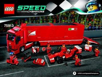 Lego F14 T & Scuderia Ferrari Truck - 75913 (2015) - LaFerrari BI 3019/196+4/65+200g 75913 V29