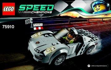 Lego Porsche 918 Spyder - 75910 (2015) - LaFerrari BI 3003/48/65g - 75910 V39