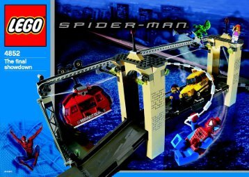 Lego Spider-Man™ vs. Green Goblin™ - the fina - 4852 (2003) - Green Goblin™ BI 4852