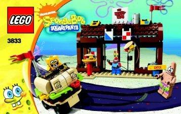 Lego Krusty Krab Adventures - 3833 (2009) - Krusty Krab Adventures BI 3004/48 - 3833