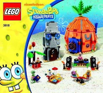 Lego Bikini Bottom Undersea Party - 3818 (2012) - Heroic Heroes of the Deep BI 3017 / 80+4 - 65/115g, 3818 V29