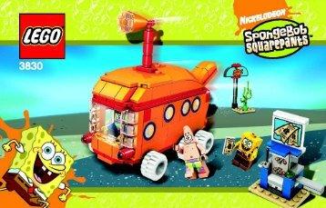 Lego The Bikini Bottom Express - 3830 (2008) - Heroic Heroes of the Deep BI,  3830