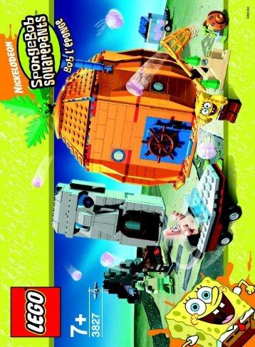 Lego Adventures in Bikini Bottom - 3827 (2006) - Heroic Heroes of the Deep BI  3827 NA