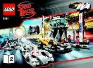 Lego Grand Prix Race - 8161 (2008) - Speed Racer & Snake Oiler BUILDING INSTR. 8161, Book 2