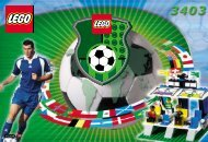 Lego Grandstand with Scoreboard - 3403 (2000) - NHL All Teams Set BUILD.INST FOR 3403 IN