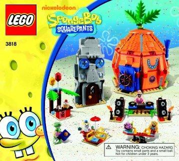 Lego Bikini Bottom Undersea Party - 3818 (2012) - Heroic Heroes of the Deep BI 3017 / 80+4 - 65/115g, 3818 V39