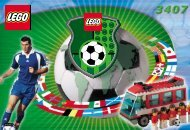 Lego Football Team Coaches - 3407 (2000) - NHL All Teams Set BUILD.INST. FOR 3407 IN