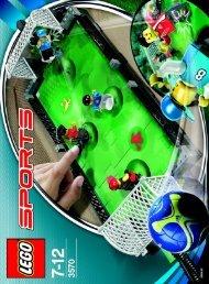 Lego Street Soccer - 3570 (2006) - Street Soccer BI  3570/IN