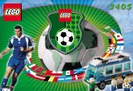 Lego Football Team Coaches - 3405 (2000) - NHL All Teams Set BUILD.INST FOR 3405 IN
