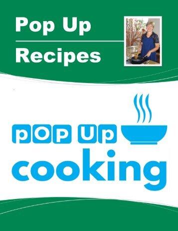 Pop Up Recipes Ids