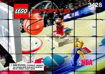 Lego 1 vs. 1 Action - 3428 (2003) - Freekick Frenzy BI  3428 NA