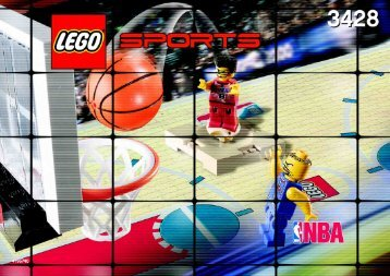 Lego 1 vs. 1 Action - 3428 (2003) - Freekick Frenzy BI  3428 IN