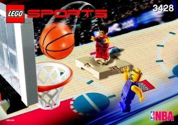 Lego 1 vs. 1 Action - 3428 (2003) - Freekick Frenzy BI, 3428 IN
