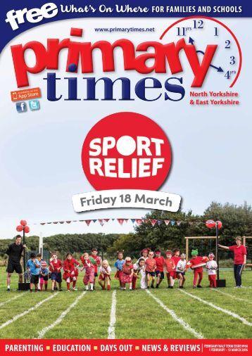 Primary Times - N & E Yorkshire Feb 2016