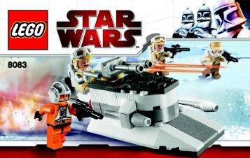 Lego Star Wars - 66364 (2010) - Star Wars Copack BI 3003/24 - 8083 V 29