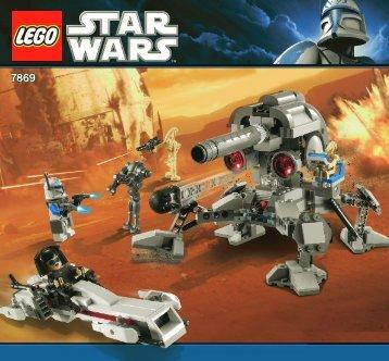 Lego Star Wars 1 Value Pack - 66377 (2011) - Star Wars VP5 BI 3005/60 - 7869 V 29/39